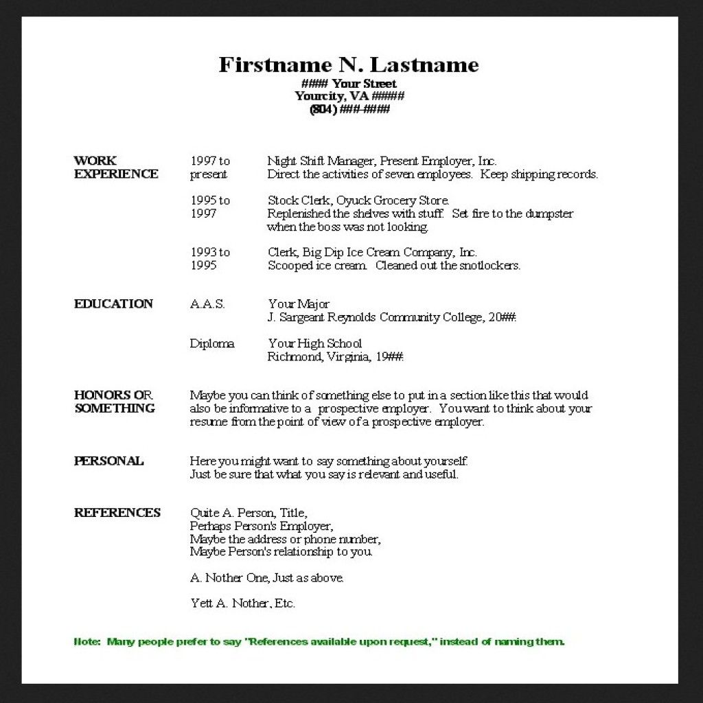 Simple Resume Samples Related Keywords Amp Suggestions