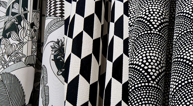 Love Black And White Fabrics These Fabrics Are Really Pretty New