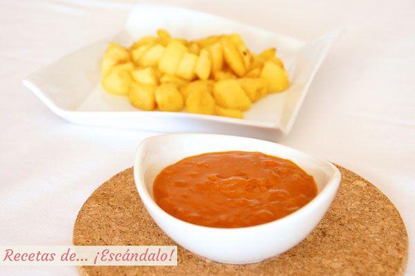Cocinar Patatas Bravas | Receta Facil De Salsa Brava Casera Para Las Patatas Bravas Recetas