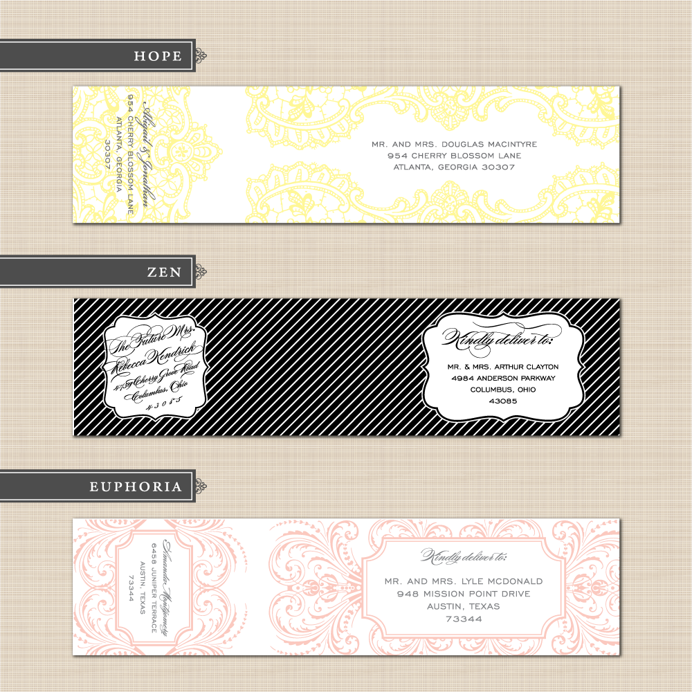 Fresh Printable Address Labels Wedding