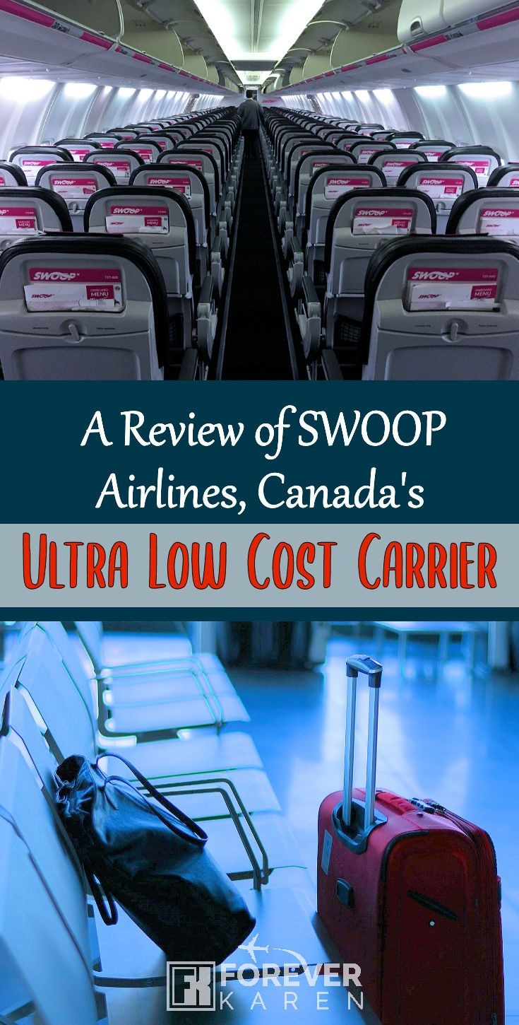 Swoop Airlines Review Canada's LowCost Carrier
