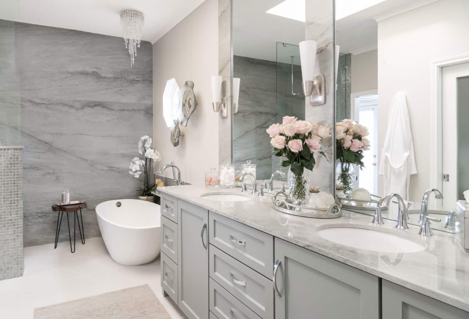 Sea Pearl Quartzite Bathroom (With images) Bathroom