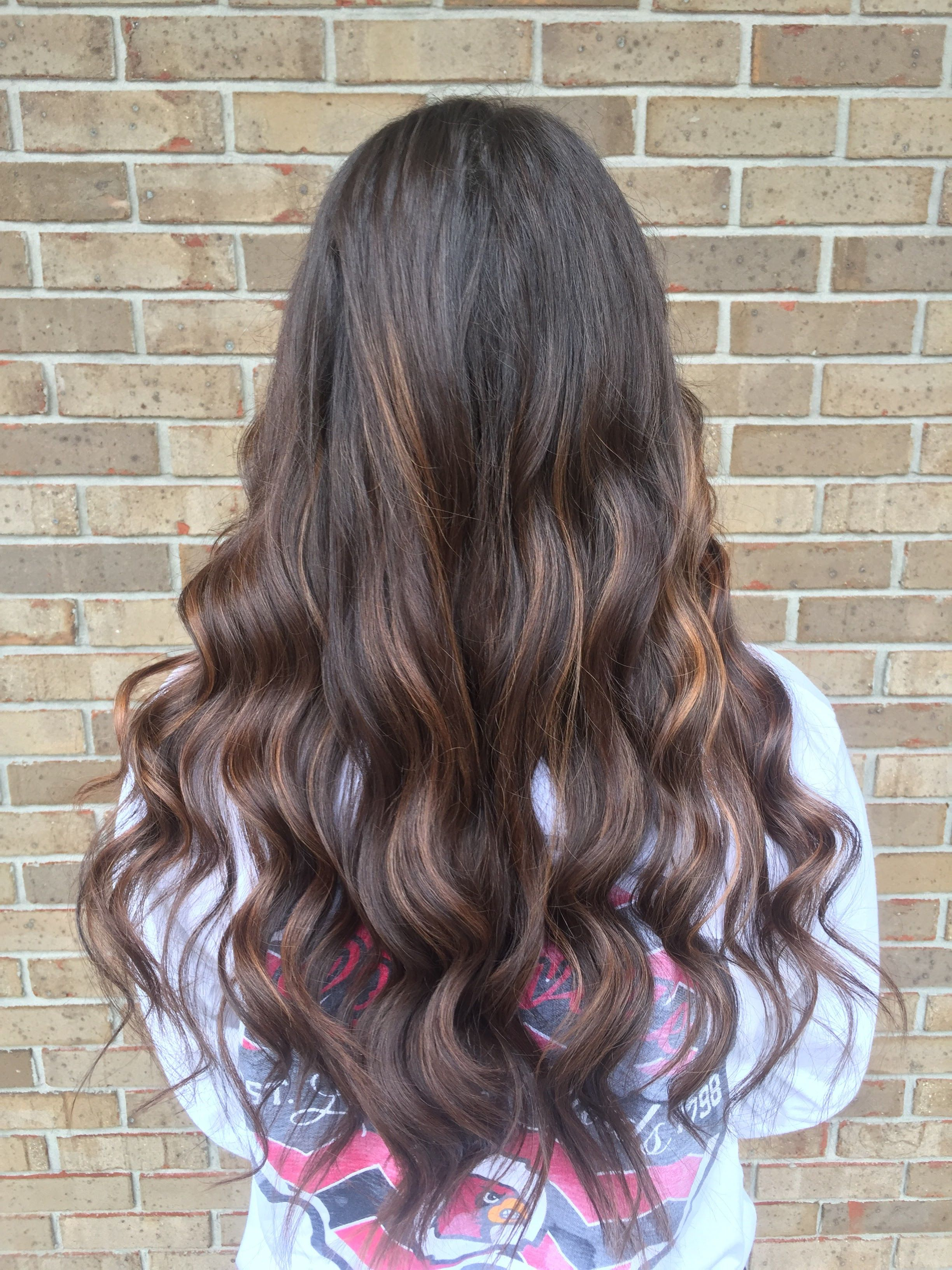 Red and copper tones hair pinterest