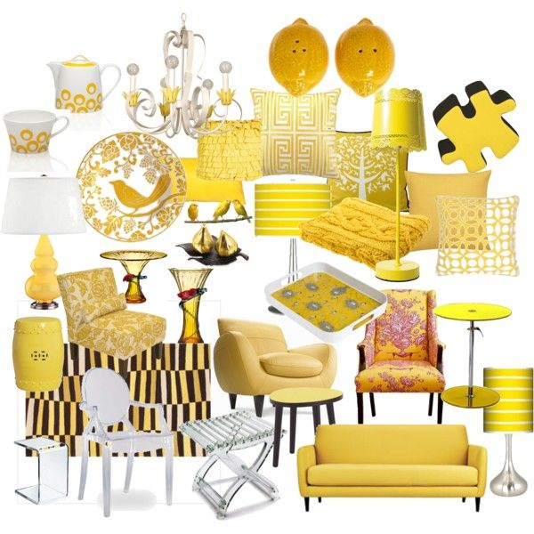 Citrus Yellow Home Decor By Sdkalina On Polyvore