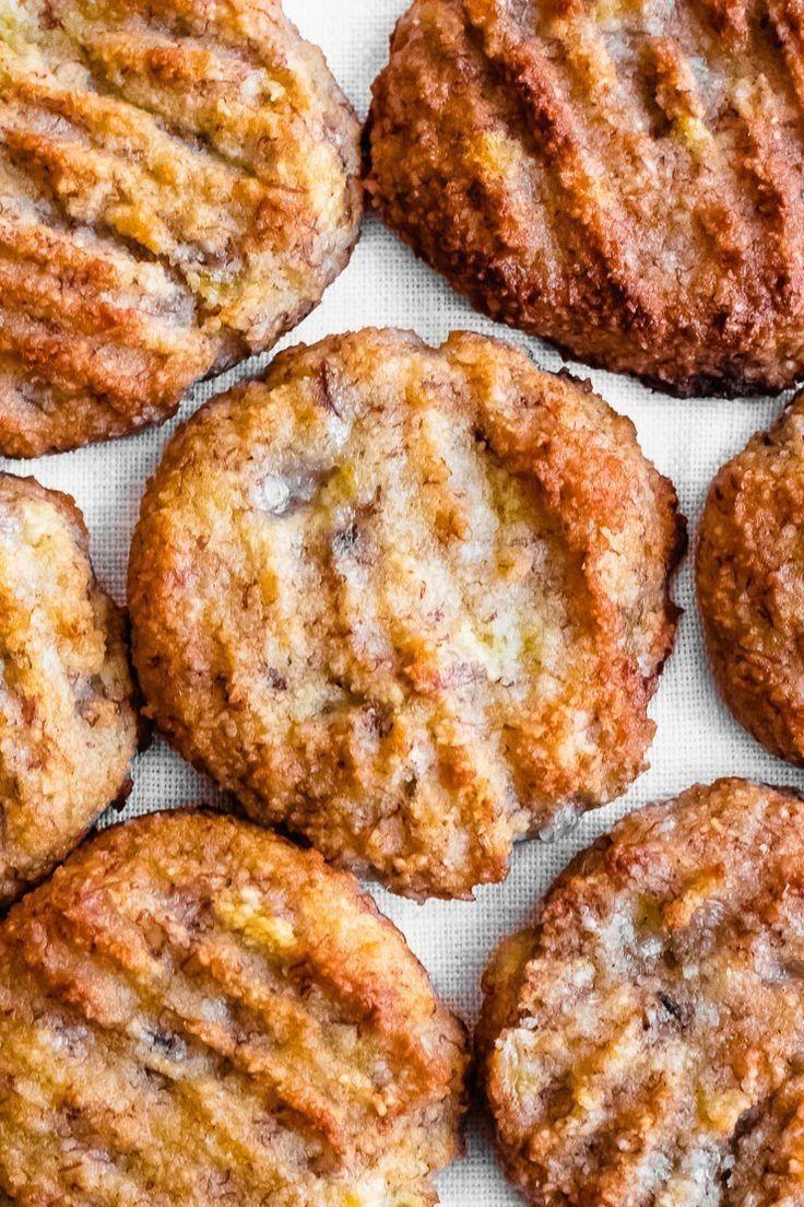 Banana Bread Cookies Gluten Free Vegan