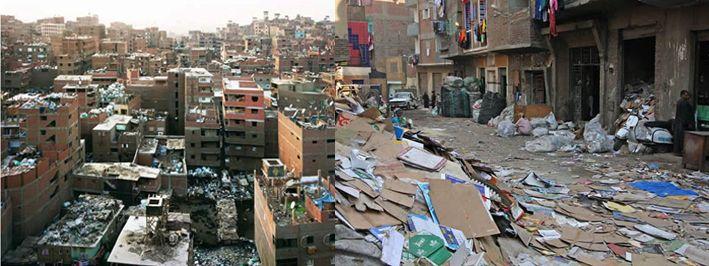 Garbage City A Waste Management Slum Birth Some Time Ago Location Cairo Egypt Architect The Zabbaleen