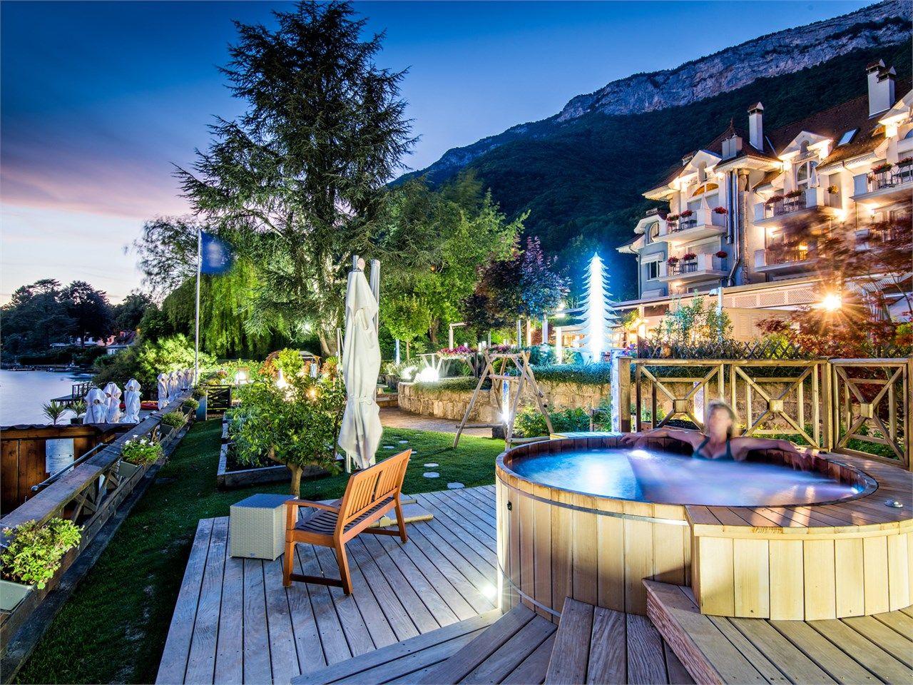 Galerie Photos, hotel restaurant Yoann Conte, Annecy | Chalet Spa ...