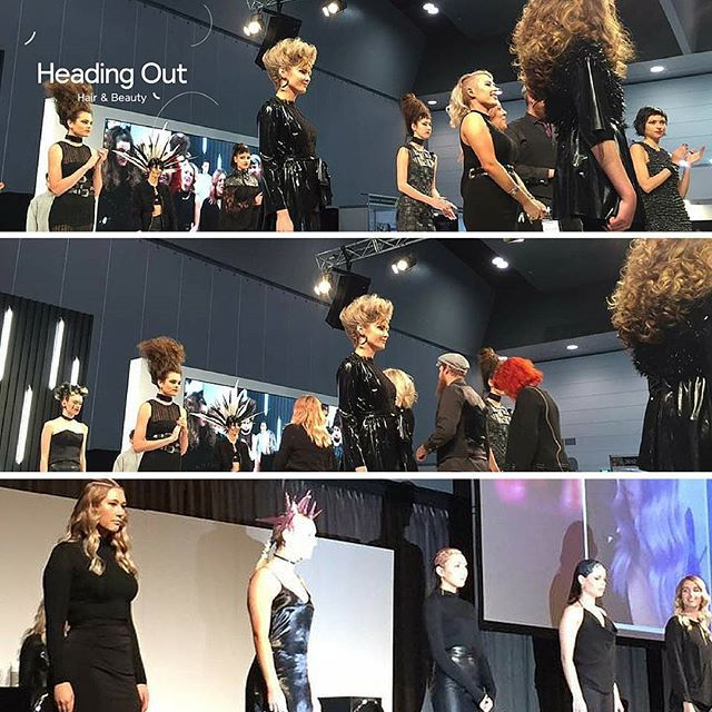 What a show!  Heading Out Hair & Beauty's FUSION & The CRUDA FIGURA collections on Main Stage @HairExpo  @caterinadibiase @thehairbender @kyalicious @hairbysimonebeales  Photo Credit: Stella Park  #hairexpo2016 #hairexpo #ahfaaustralianhairdresseroftheyear #headingoutacademy #hohb_aus #caterinadibiase #melbournehairdresser #avantgardehair #hairart #hairinspiration #saloneducation #fusion #theCrudaFigura