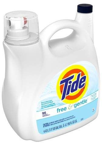 Tide Free Gentle Unscented Liquid Laundry Detergent 150 Fl Oz Laundry Detergent Tide Free Gentle Liquid Laundry Detergent