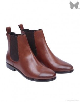CO AT Leather Chelsea Boot - Brown  chelseaboot   Chelsea Boots ... 677428dbaa