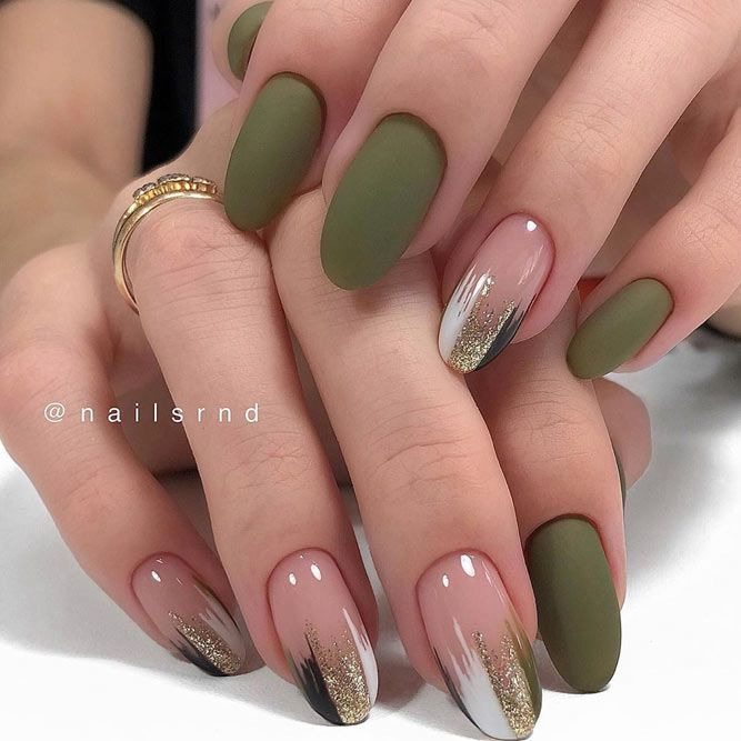Mani Ideas In Fall Nail Colors