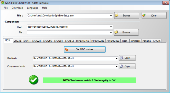 MD5 Hash Check - Check File Integrity and Validate MD5