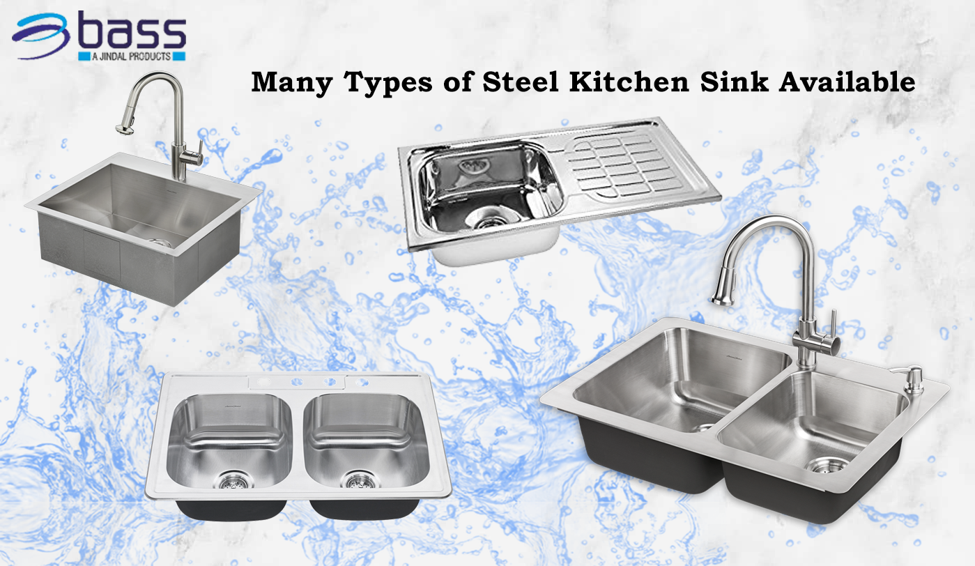 many types of kitchen sink available | Steel Kitchen Sink ...