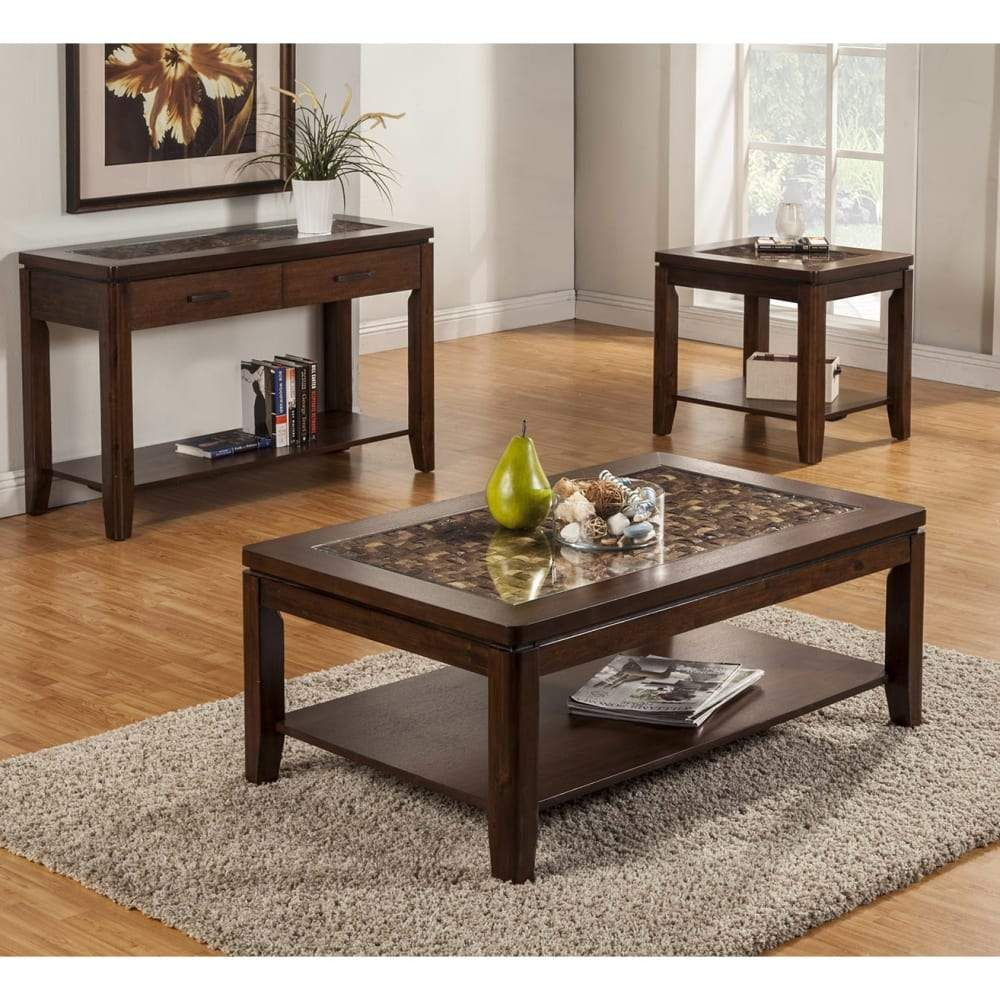 Granada Coffee Table With Glass Insert Shelf In Brown Merlotdefault Title In 2021 Coffee Table Furniture 3 Piece Coffee Table Set [ 1000 x 1000 Pixel ]