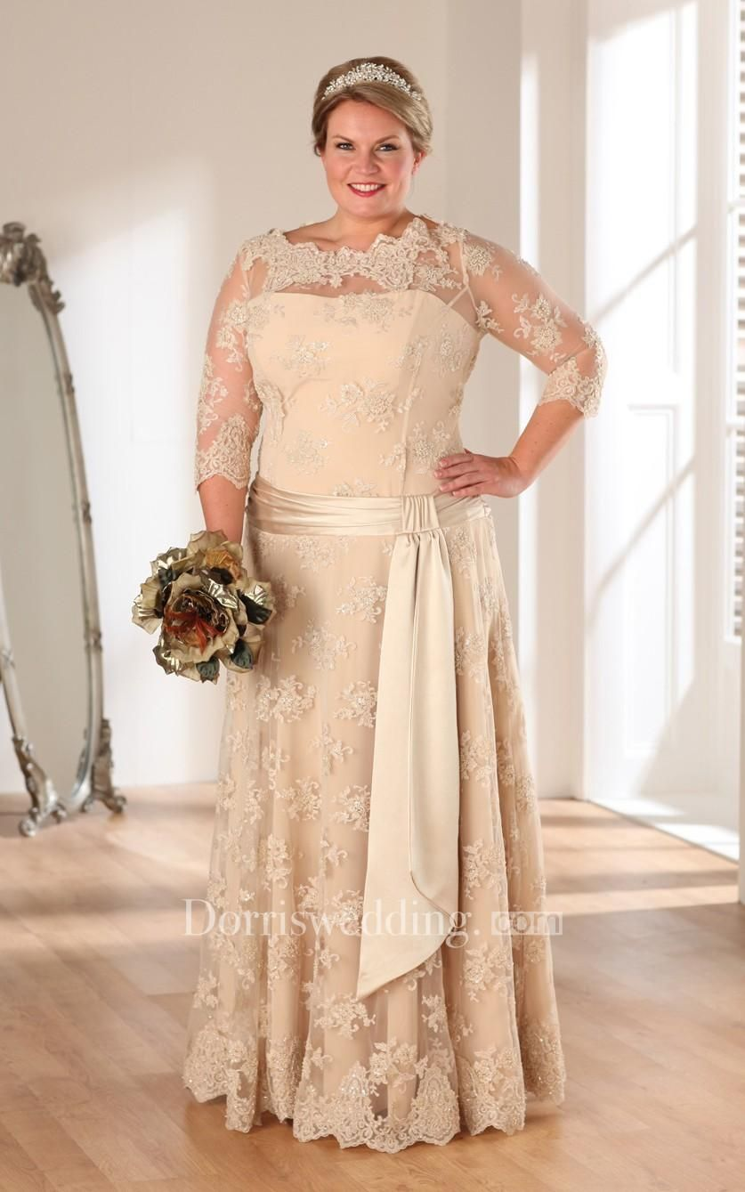 Dorris wedding dorris wedding aline floorlength bateau neck