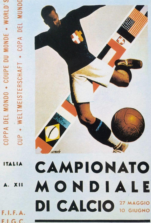 1934 Italia Fifa Calcio Coppie