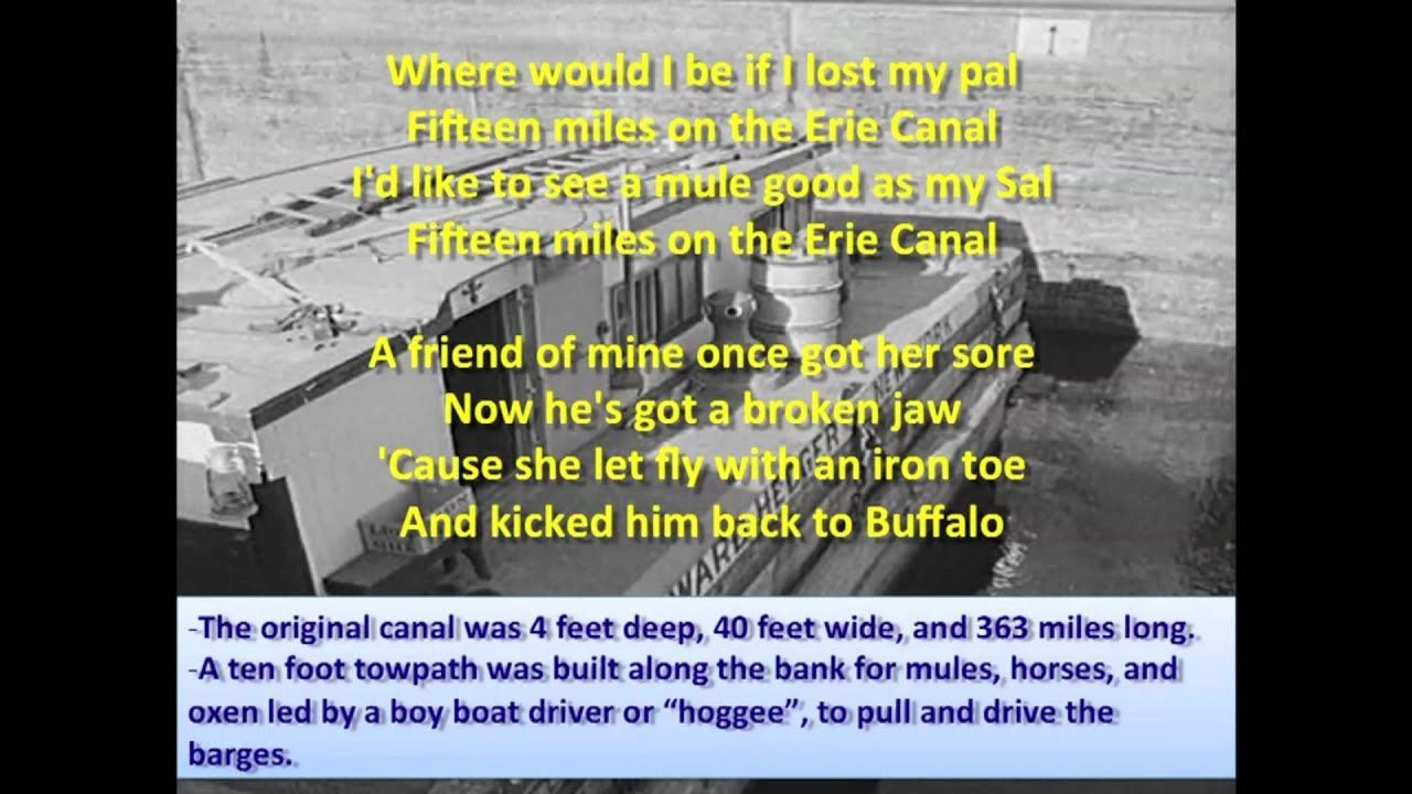Erie Canal Bruce Springsteen (Lyrics) Erie canal
