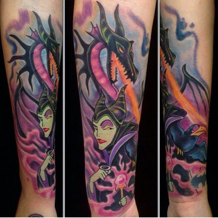 Maleficent Tattoo Disney Inspired Tattoos Maleficent Tattoo Tattoos