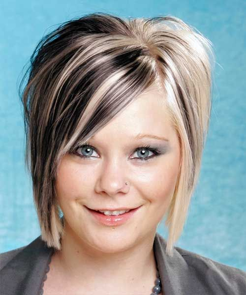 Two Tone Hair Color Ideas For Short Hair The Best Short Hairstyles For Women 2015 Black Hair With Blonde Highlights Short Hair Styles Short Hair Color