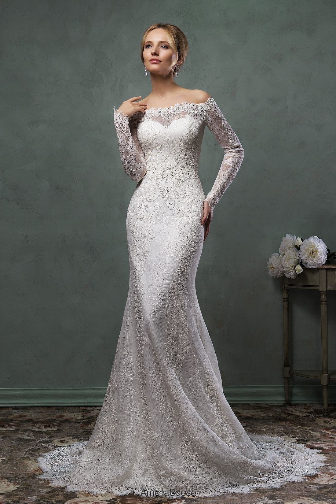 Wedding dress Ofelia | Amelia Sposa 2016 | AmeliaSposa | Pinterest ...