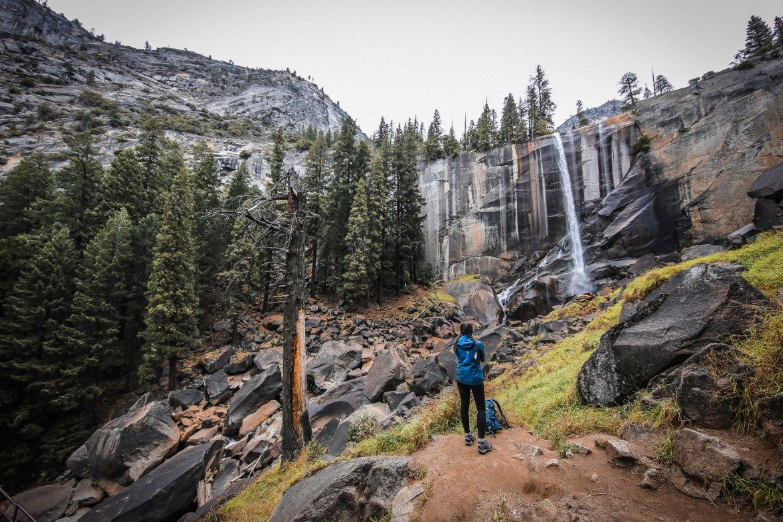 Yosemite National Park - California Travel Blogger - Mist Trail