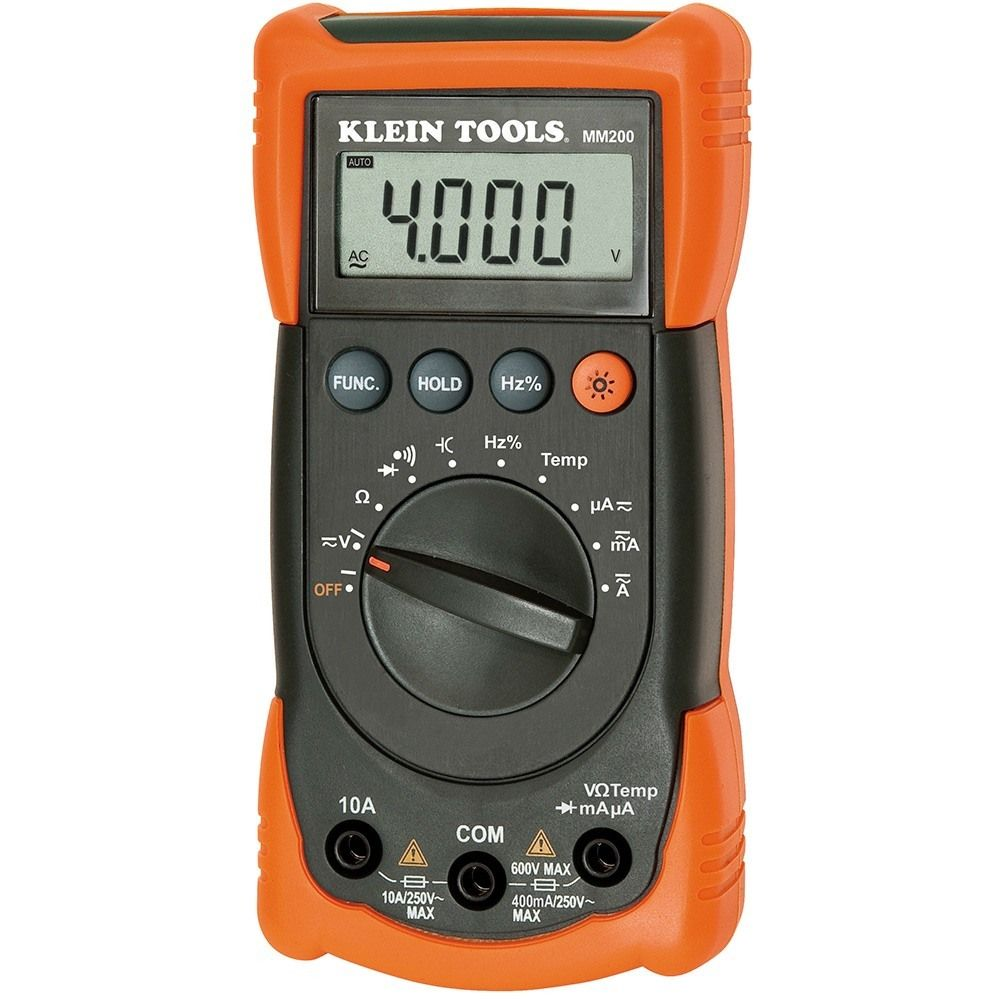 Designed for electricians, Klein Tools MM200 is an