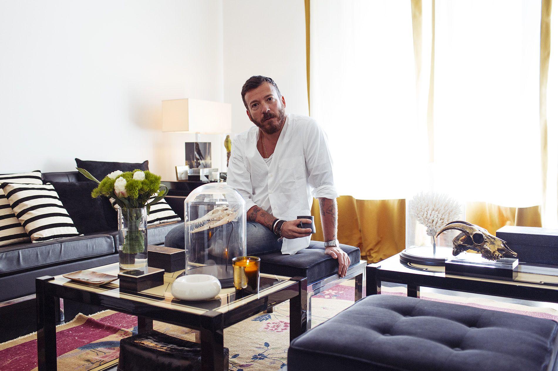 Andrea Pompilio – Fashion Designer at home and his studio in Milan ...