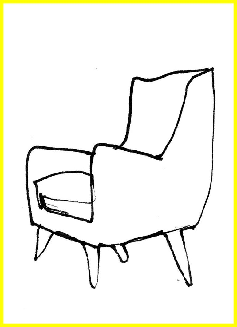 56 Reference Of Chair Drawing Easy In 2020 Chair Drawing Chair Baby Rocking Chair