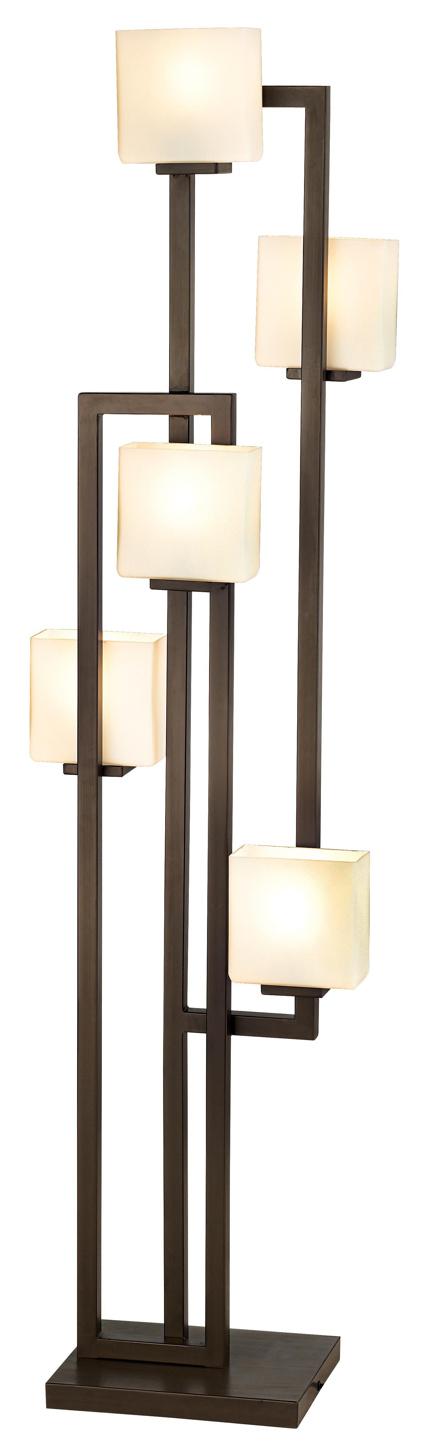Possini Euro Lighting On The Square 5 Light Floor Lamp