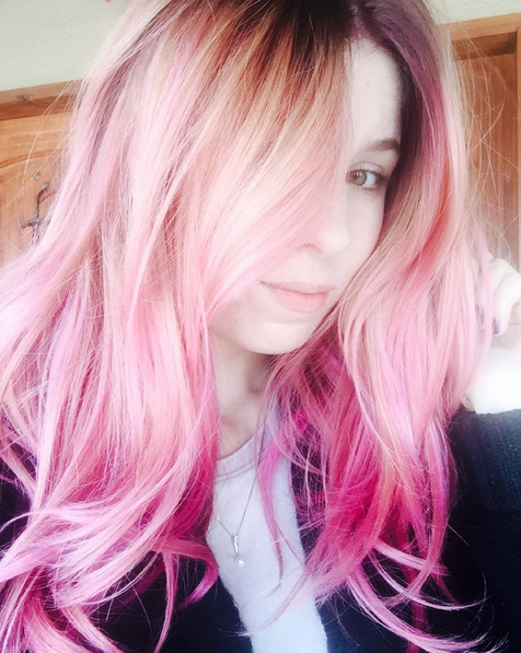 Heres what you need to know about color melting your hair give yourself a pastel pink do try out the latest hairstyle trend color melting solutioingenieria Gallery