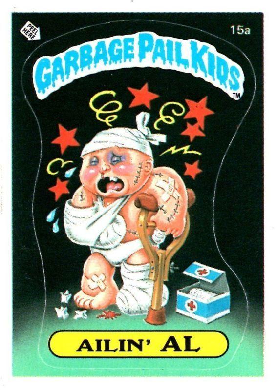 Spearmint Mindy Garbage Pail Kids Terry Tragame 1 Year Ago Lpb15 Ailin Al Garbage Pail Kids Garbage Pail Kids Cards Kids Series