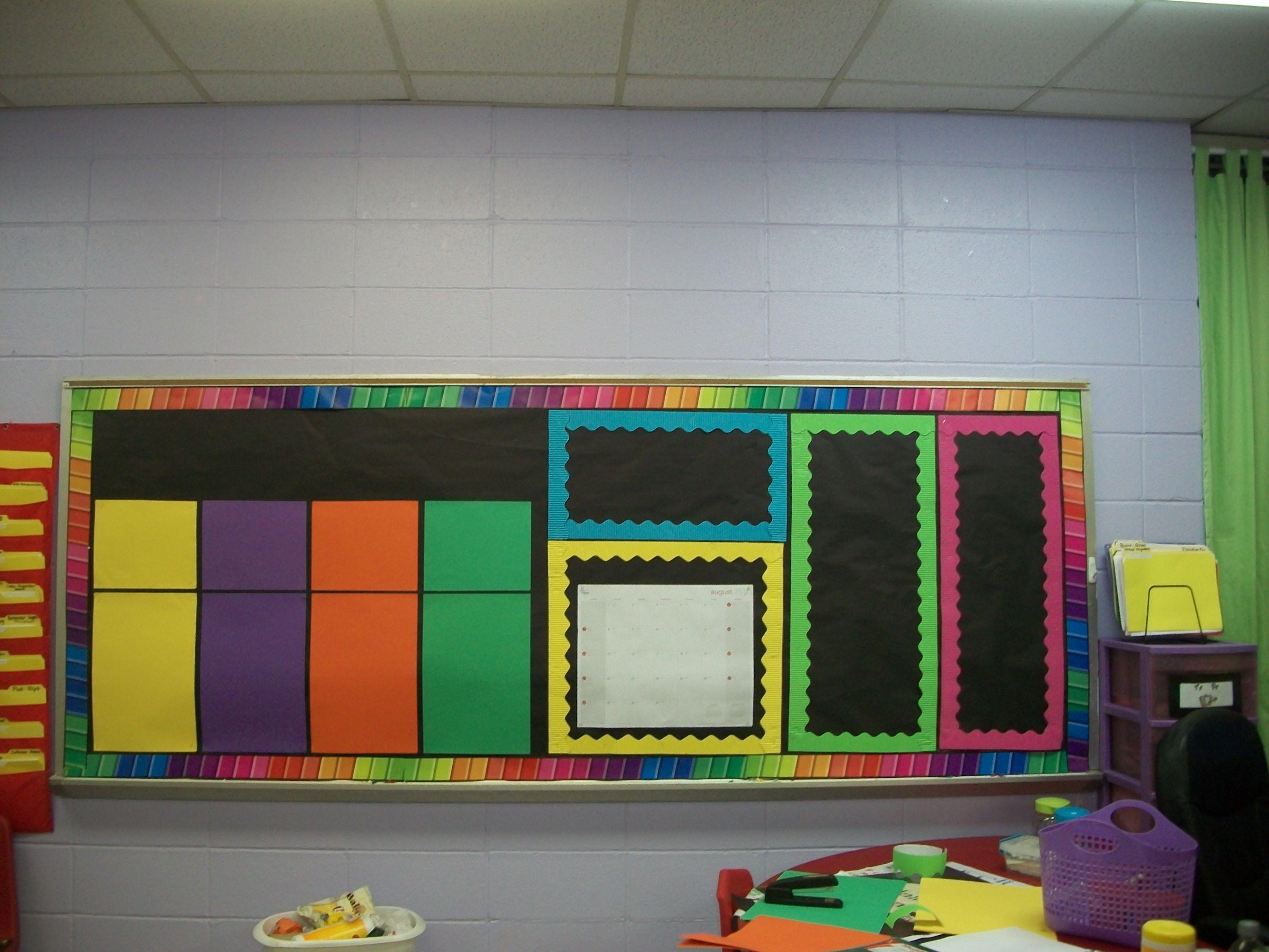 First Grade Classroom Setup