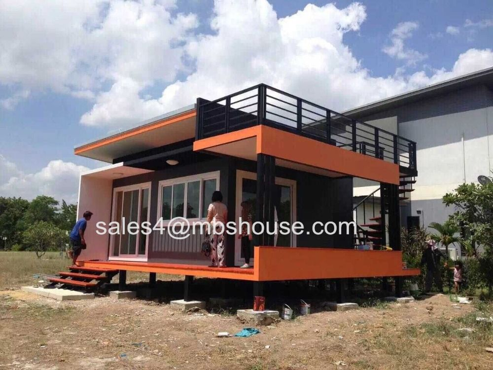 Super Low Cost Prefabricated House Fast Build Light Steel Villa Tiny Size Container Home Well Design Container House Prefabricated Houses Small House Design