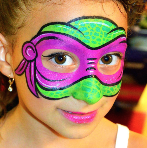Awesome Paint Primer: Face Paint Perfection: Awesome Children's Face Paint Ideas
