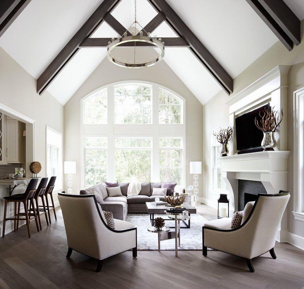 Lighting Idea For Living Room Vaulted Ceilings Beautiful Vau