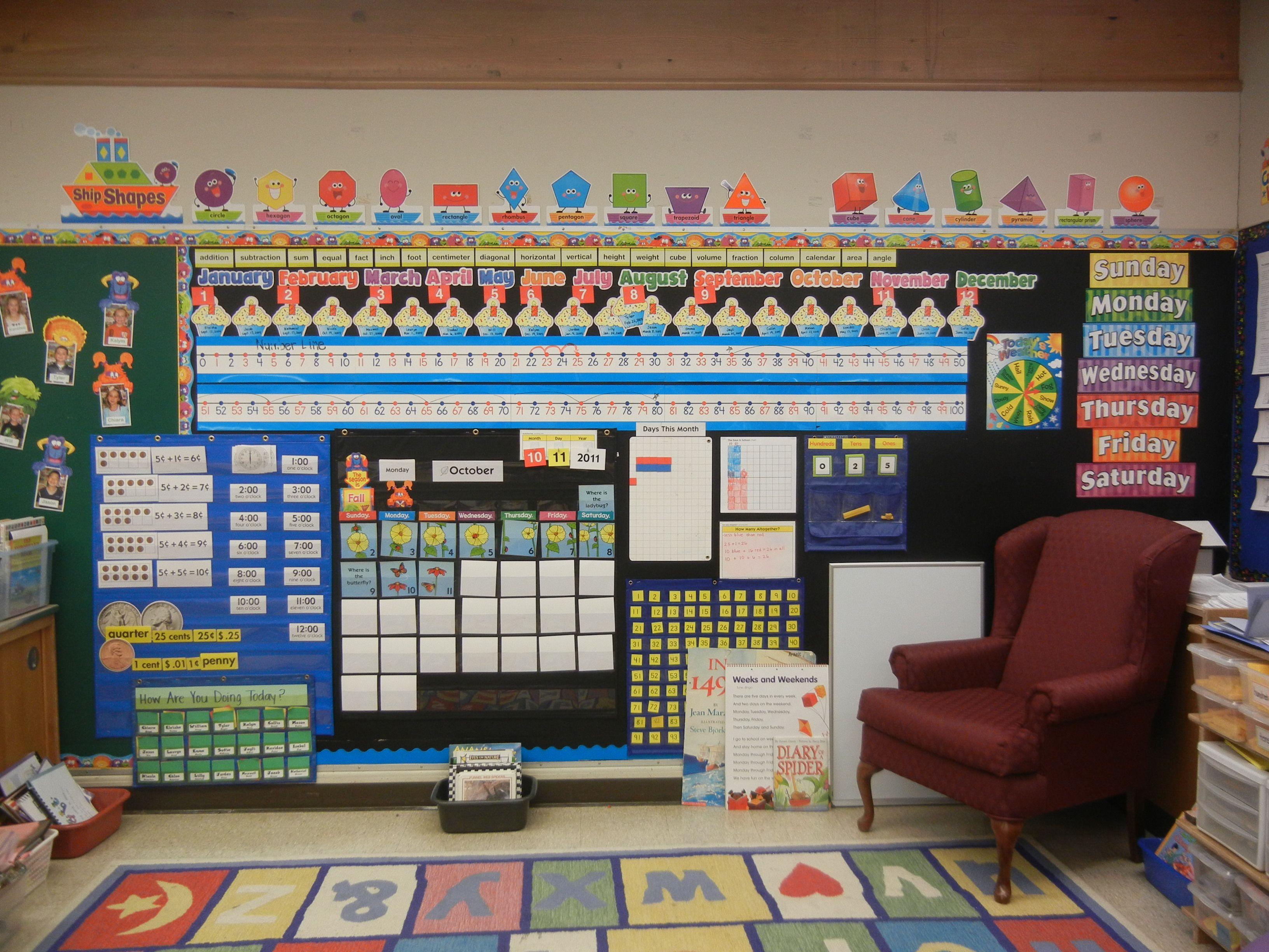 Classroom Ideas Maths : My math wall bridges number corner teaching pinterest