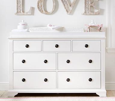 Fiona Extra Wide Dresser & Topper set #pbkids | Nursery | Pinterest