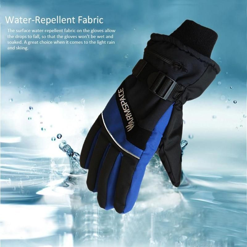 A Pair Usb Winter Hand Warmer Electric Gloves Waterproof Heated Gloves For Motorcycle Ski Five Fingers Gloves New Heated Gloves Hand Warmers Gloves