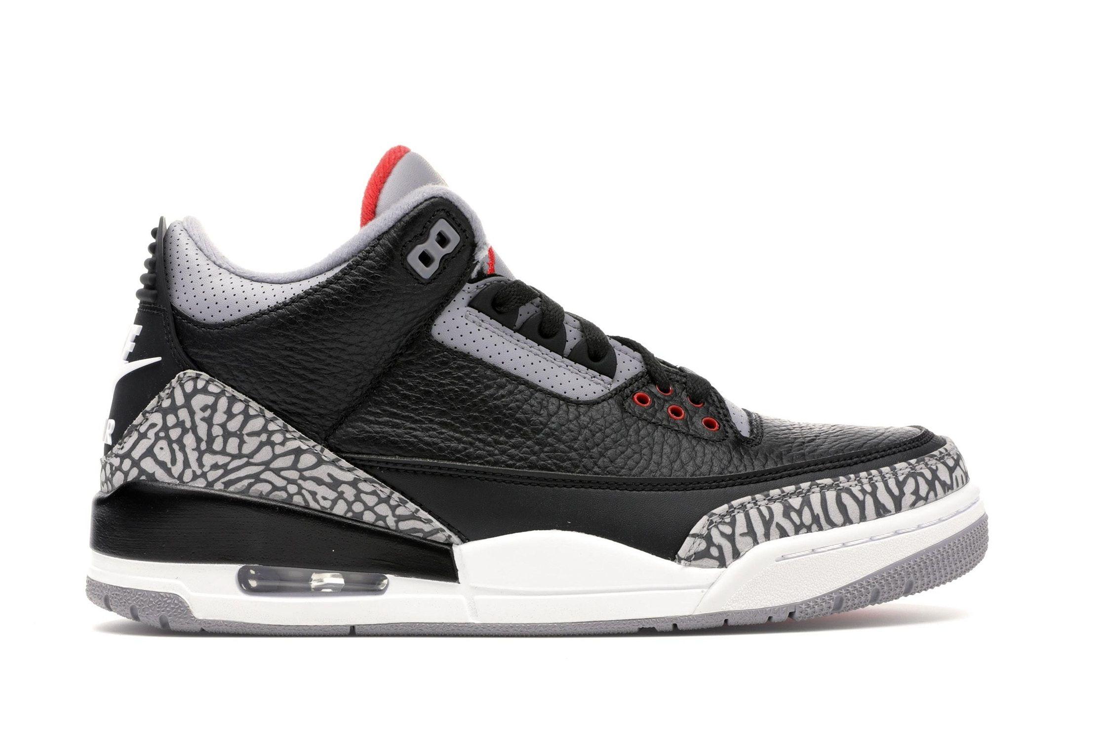 Jordan 3 Retro Black Cement 2018 With Images Air Jordans Retro