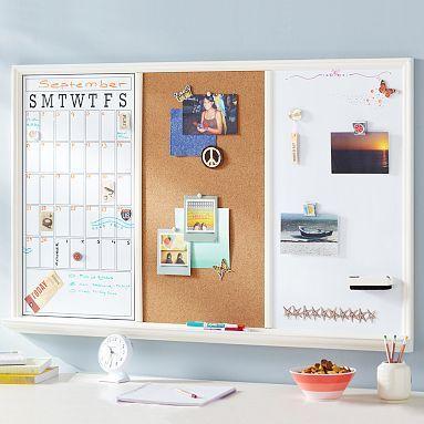 Study Wall Board Triple