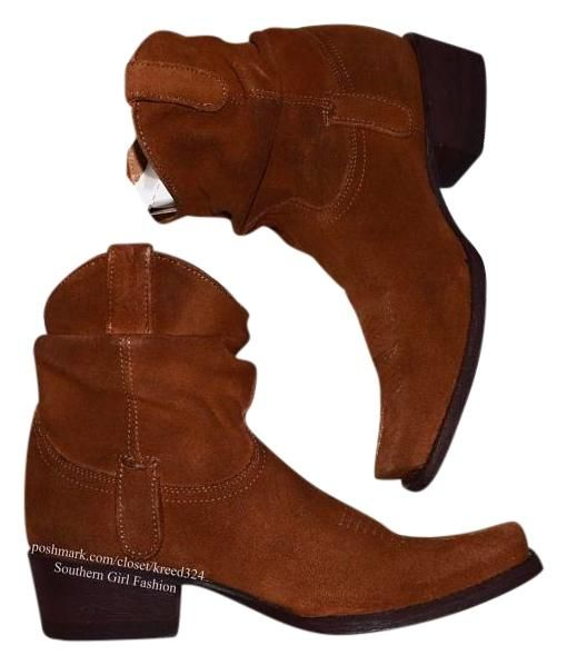 Old Gringo Ankle Slouchy Og Cowgirl Western Cowboy Brown Multi Boots