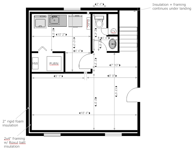 Bathroom Design Layouts like this layout-wall next to toilet and wall captured sink