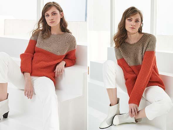 Photo of Schicker Color-Block Pullover für den Herbst und Winter