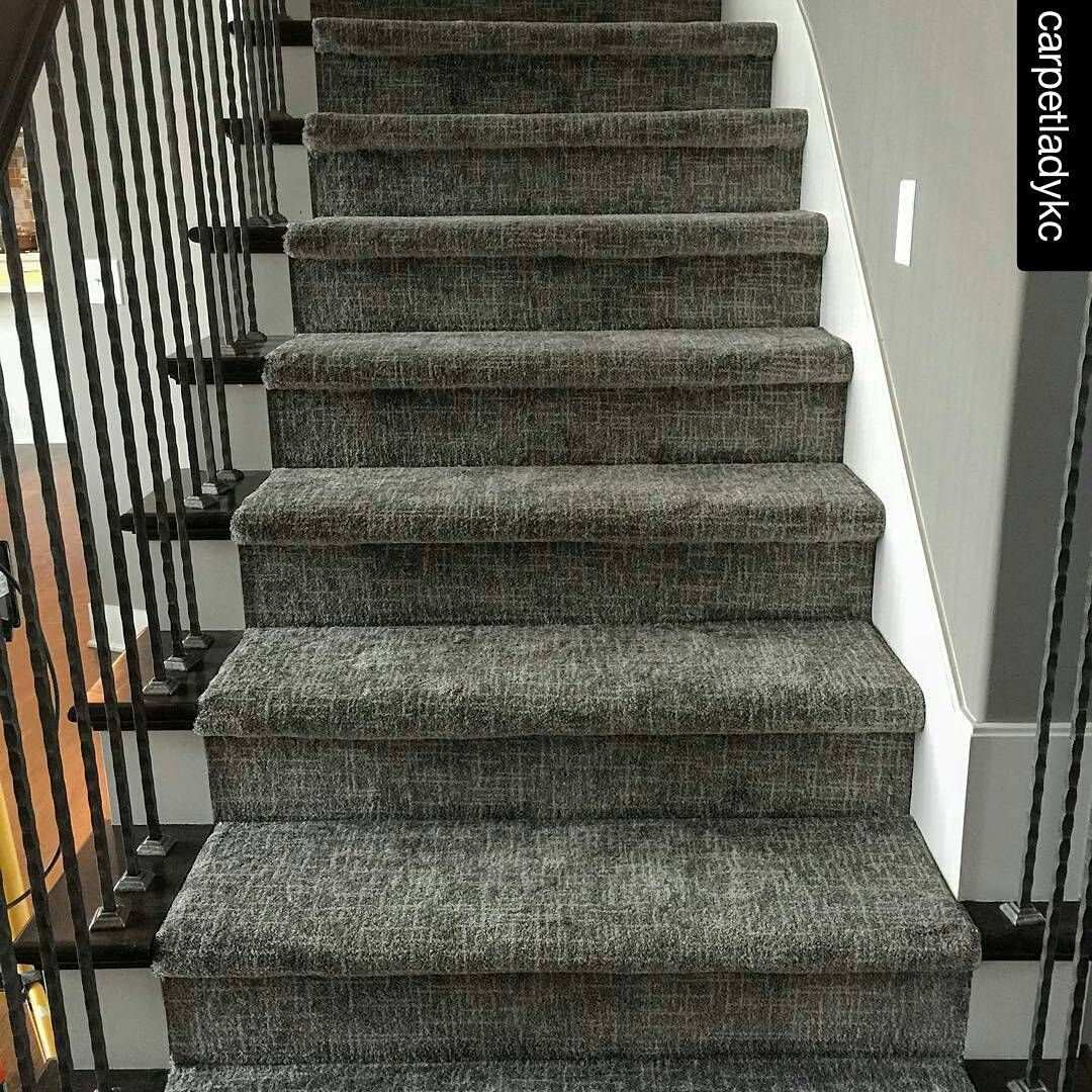 Love This Texture On The Stairs Runner Amp Area Rug