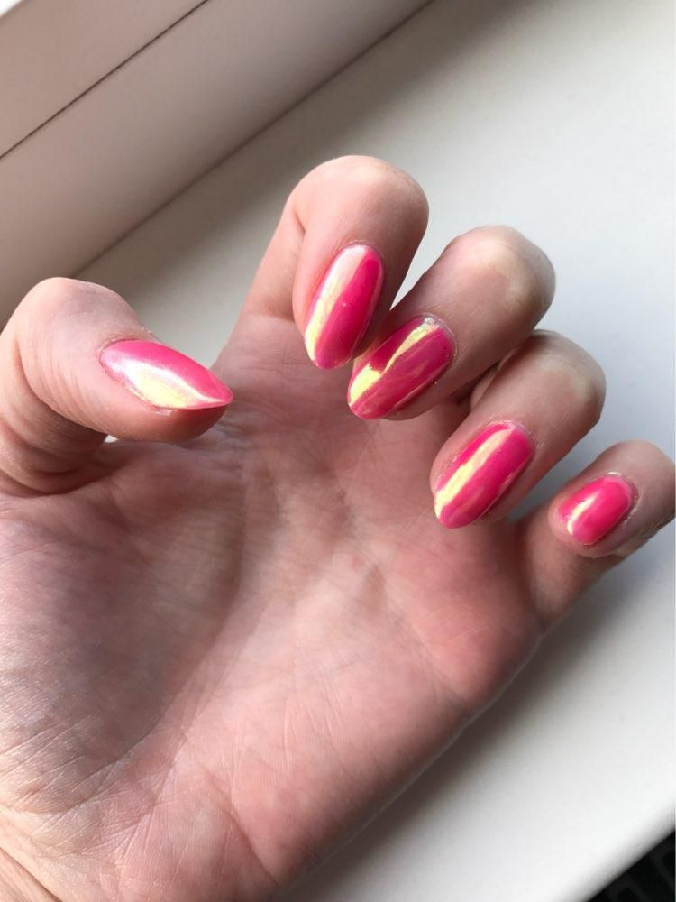 Neon Glitter Unicorn Mirror Nail Powder 0.2g Ultra-thin Mermaid ...