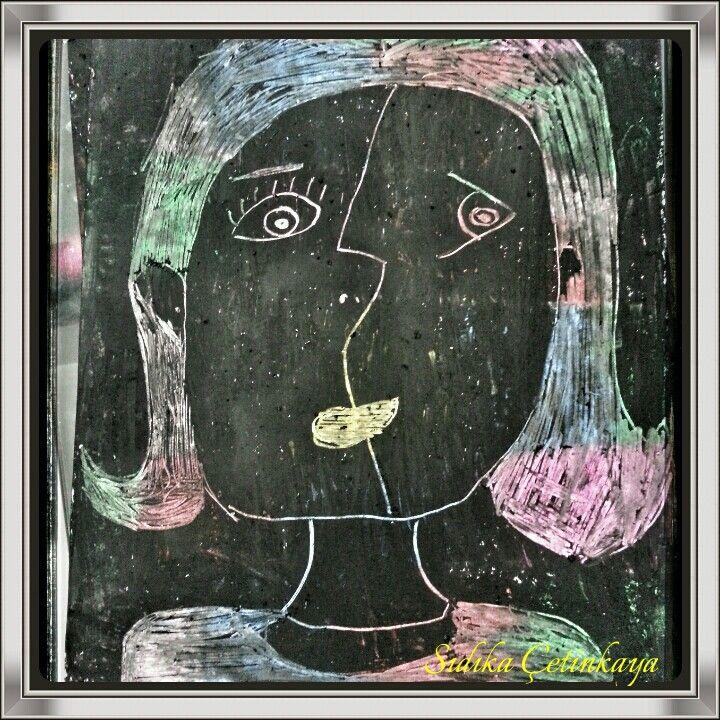 Pastel Boya Kazıma Tekniği 3 Sınıflar Görsel Sanatlar Dersi