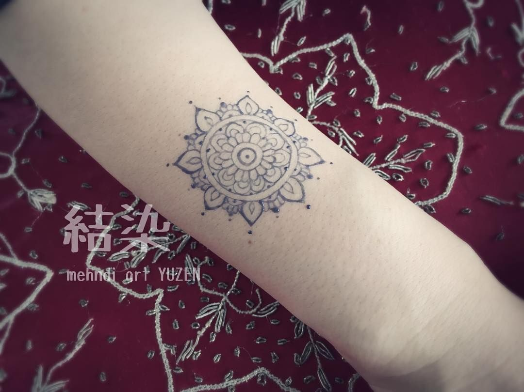 Mandalas make such beautiful tattoos diy your own with