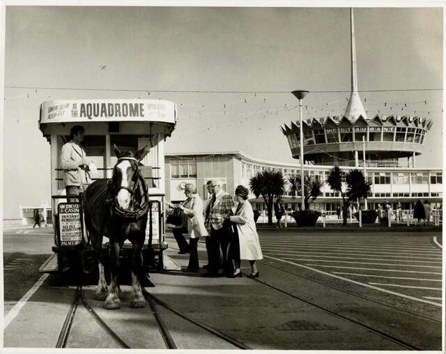 1960's, Sea Terminal and Horse Tram