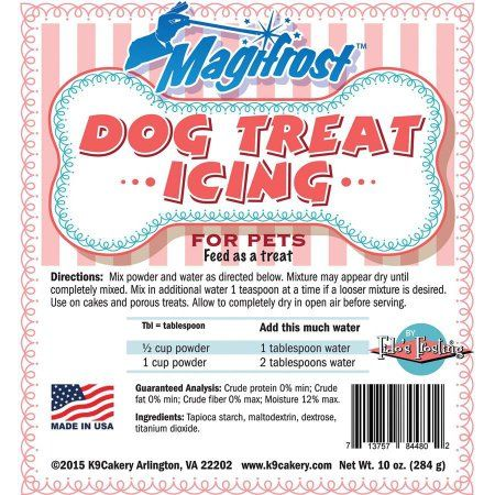 Magifrost Dog Treat Icing, 10 oz, Multicolor