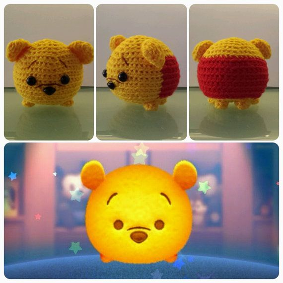 Handmade Tsum Tsum Amigurumi for Winnie the Pooh by uDezignCrafts ...